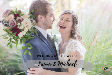 Wedding of the Week: Laura & Michael