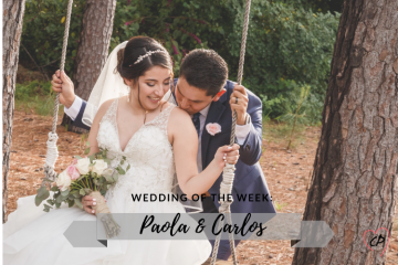Wedding of the Week: Paola & Carlos