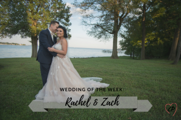 Wedding of the Week: Rachel & Zach
