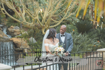 Wedding of the Week: Christina & Mario Crawford