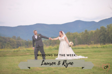Wedding of the Week: Lauren & Ryne