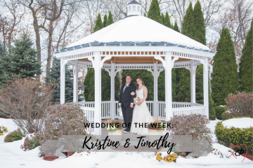 Wedding of the Week: Kristin & Timothy Burdick