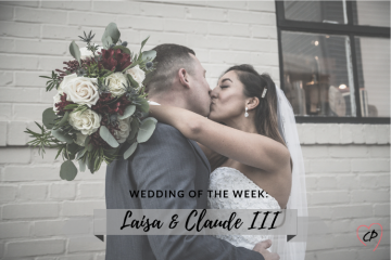 Wedding of the Week: Laisa & Claude King III