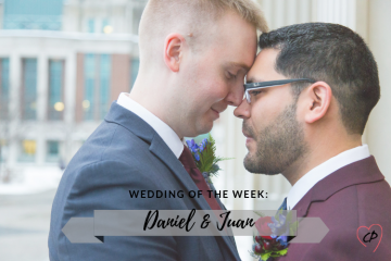 Wedding of the Week: Daniel & Juan