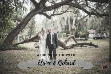 Wedding of the Week: Elaine & Richard