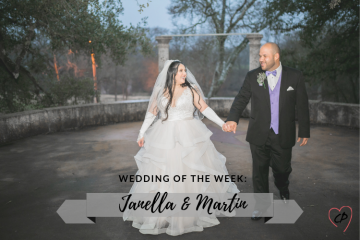 Wedding of the Week: Janelle & Martin