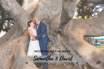 Wedding of the Week: Samantha & David