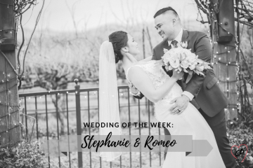 Wedding of the Week: Stephanie & Romeo