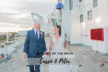 Wedding of the Week: Cassie & Peter