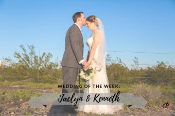 Wedding of the Week: Jackie & Kennie