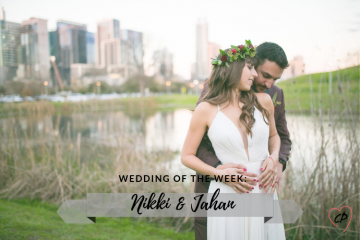 Wedding of the Week: Nikki & Jahan