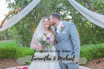 Wedding of the Week: Samantha & Michael