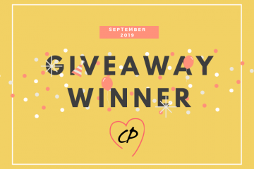 September 2019 Giveaway Winner