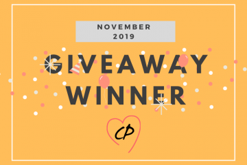 November 2019 Giveaway Winner
