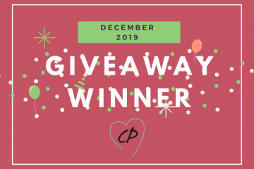 December 2019 Giveaway Winner