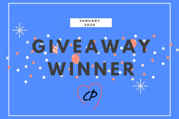 January 2020 Giveaway Winner