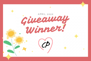 April 2020 Giveaway Winner