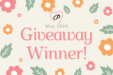 May 2020 Giveaway Winner
