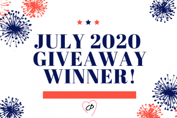 July 2020 Giveaway Winner