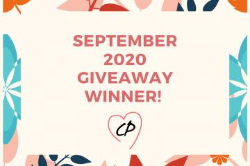 September 2020 Giveaway Winner