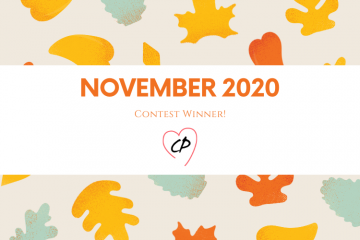 November 2020 Giveaway Winner