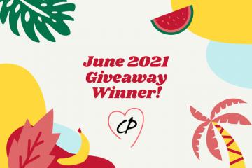 June 2021 Giveaway Winner
