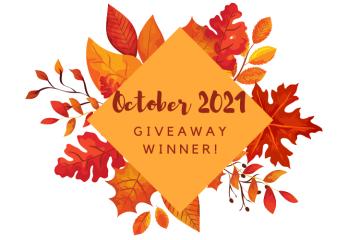 September 2021 Giveaway Winner
